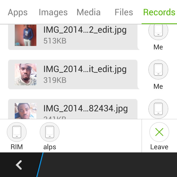 Download Xender app To send and receive files on Android, iOS and Blackberry