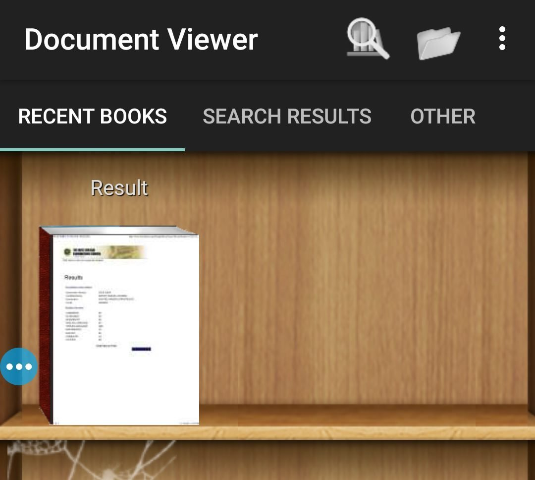 Document viewer android app for opening oxps files