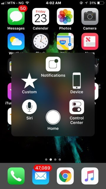 Assistive Touch iPhone trick