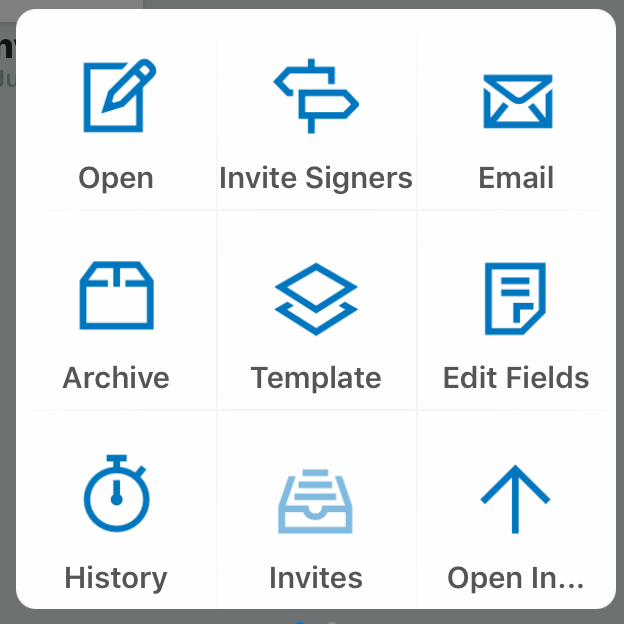 Editing signed document on signnow iOS app