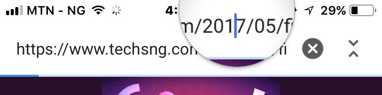 Properly Toggle between characters on iPhone