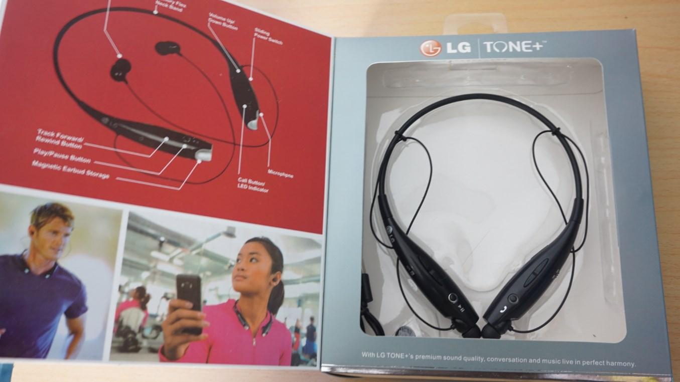 LG Tone+ HBS-730 unboxed