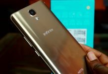 Infinix note 4 android smartphone