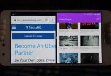Split screen multitasking on infinix android phones