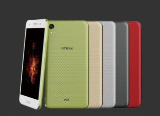 Infinix hot 5 and infinix hot 5 lite color variants