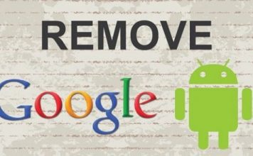 Steps to Remove Google gmail account on android