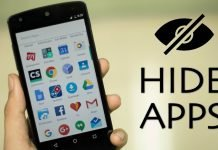 how to hide and unhide apps and files on infinix android phones