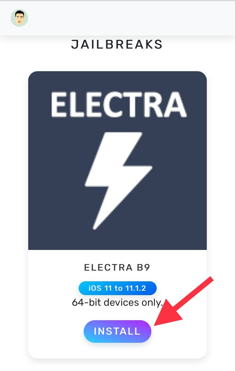 Download Electra Jailbreak iOS 11