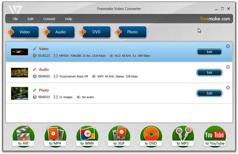 How to use freemake video converter