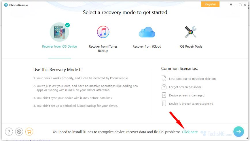 Tool requires iTunes to be installed on Computer