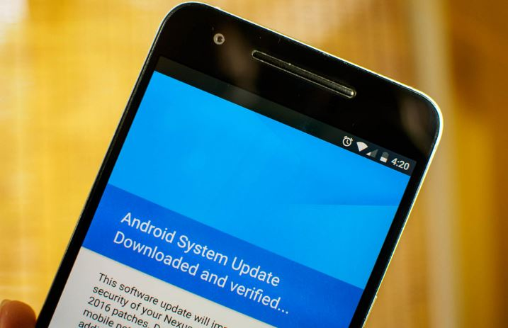 android software update to fix WiFi authentication problem