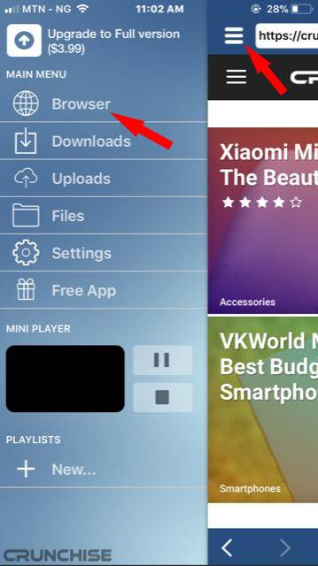 How To Download Tubidy MP3 Music Audio and Video Files On iPhone