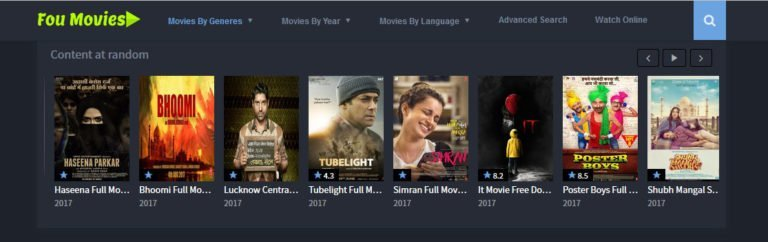 Foumovies download and watch movies online without sign up or registration