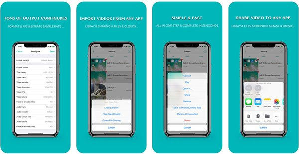 iconv audio sound removal app for iPhone