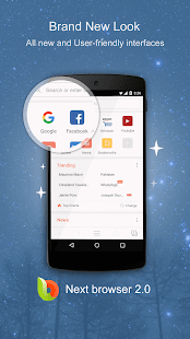 next android web browser
