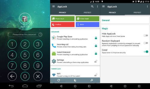applock android app to lock pictures and videos