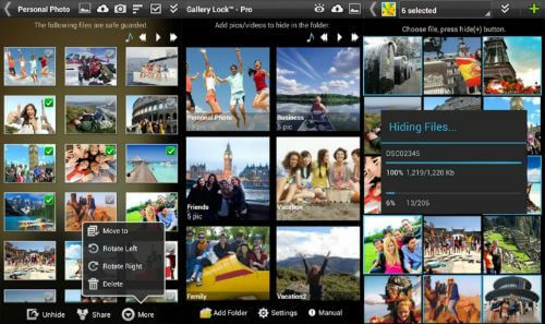 gallery lock app to protect images and videos on android