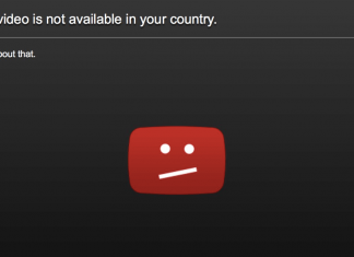 Fix this video is not available in your country on youtube