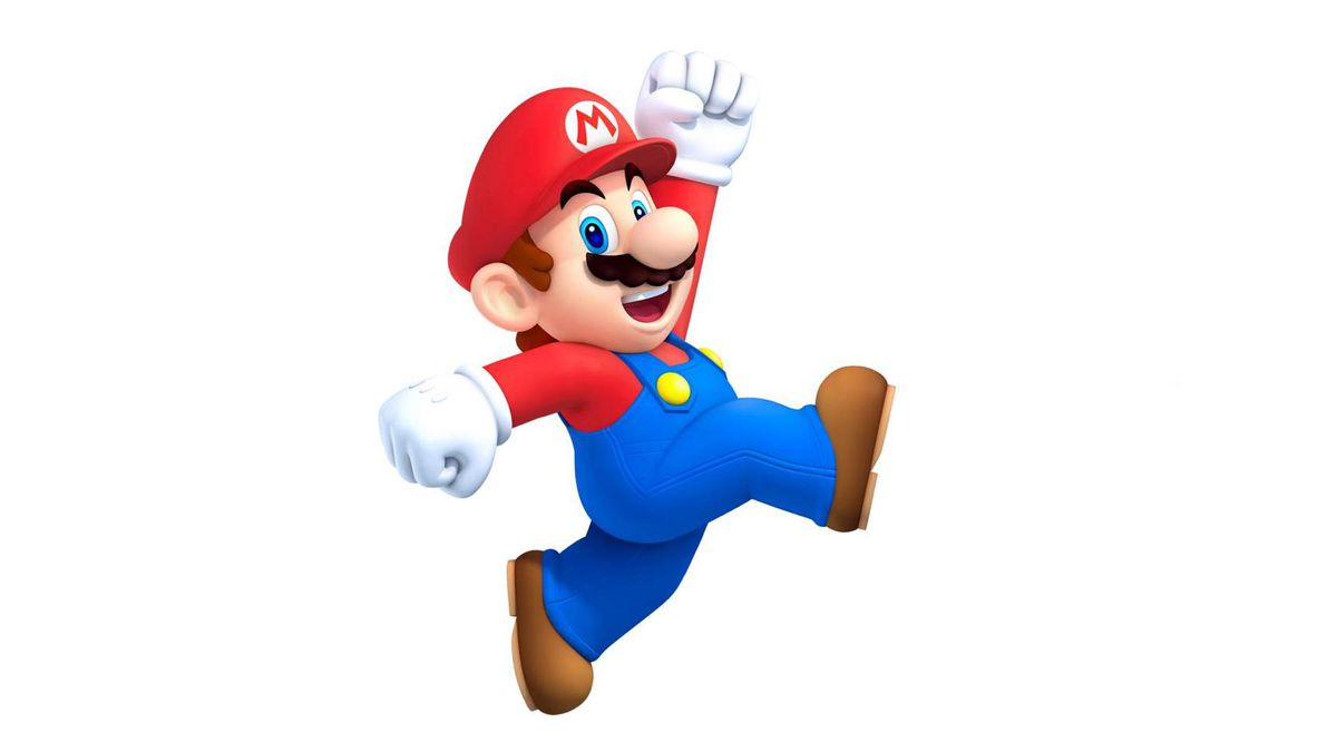 Mario game produced by nintendo