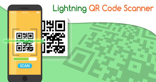 Lightening QR scanner